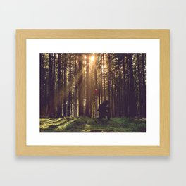 The Long Walk Home ... Framed Art Print