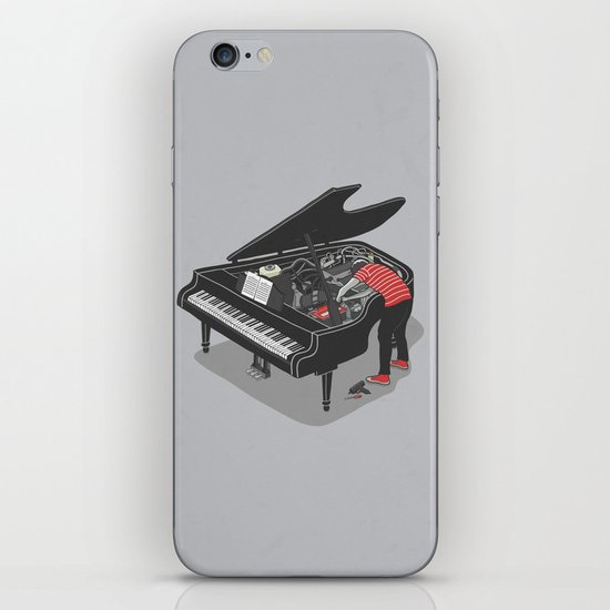 Pre-Concert Tune-Up iPhone & iPod Skin