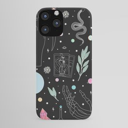 Crystal Witch Starter Kit - Illustration iPhone Case