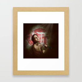 KATANA Framed Art Print