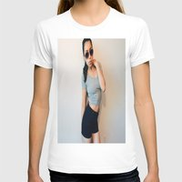 lara croft T-shirts featuring Laura Croft Type Bish by fat dominic