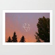 Same Sky (no quote) Art Print