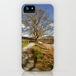 The Grasmere Tree iPhone Case