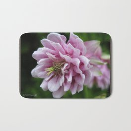 Double Columbine named Pink Tower Bath Mat
