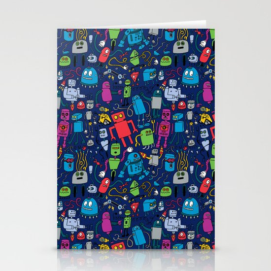 Robots Forever! Stationery Cards