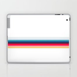 Simply Striped (white) Laptop & iPad Skin