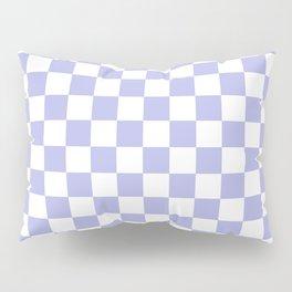 Gingham Soft Lavender Blush Checked Pattern Pillow Sham