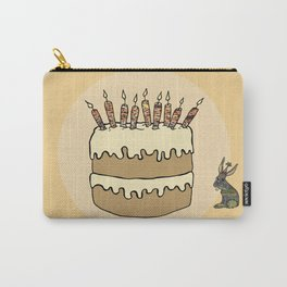 RABBIT CAKE Carry-All Pouch