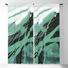 verde menta Blackout Curtain