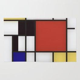 Piet Mondrian Rug