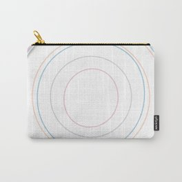 Intertwined Strength and Elegance of the Letter O Carry-All Pouch