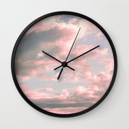 Delicate Sky Wall Clock