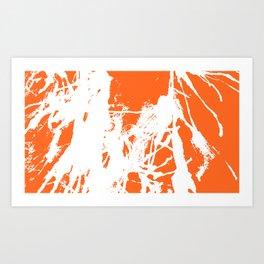 Orange Base Art Print
