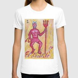 El Diablito by Riendo T-shirt