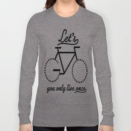 Bike Life Long Sleeve T-shirt