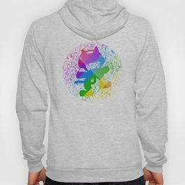 Rainbow MonsterCat Hoody