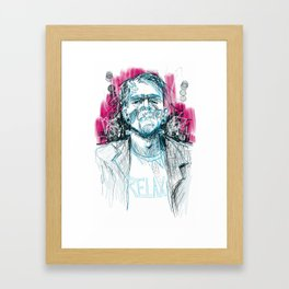 Frankie Say Framed Art Print
