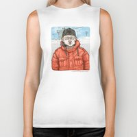 fargo Biker Tanks featuring Lester Nygaard… He'd hate for your pretty face to freeze…  by suPmön