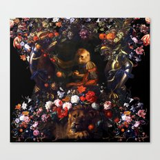 Prince Monkey Canvas Print