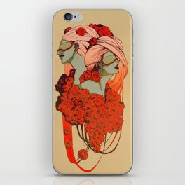 passionaria iPhone Skin