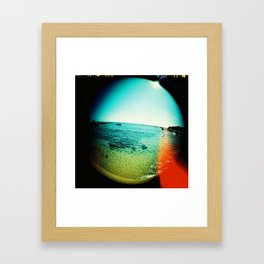 Leak Framed Art Print