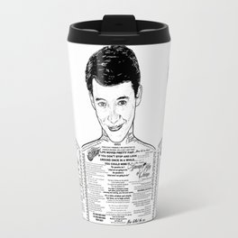 Save Ferris The Righteous Dude Travel Mug