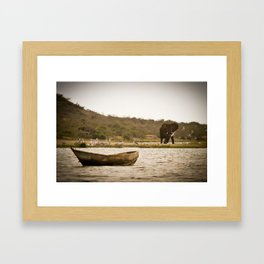 Water is the Source of Life Framed Art Print