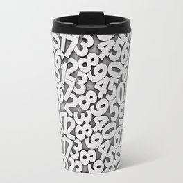 By the numbers Travel Mug