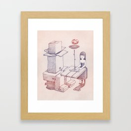 Carboard Framed Art Print