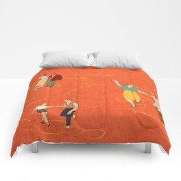 Sing, sing, sing! Comforters