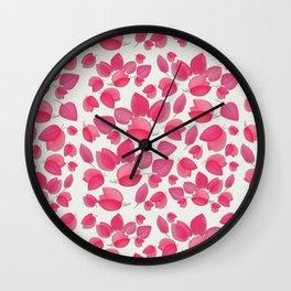 Begonvil Pedals Wall Clock
