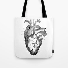 Anatomic hearth engraving Tote Bag