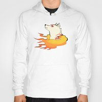 okami Hoodies featuring Okami by poripori