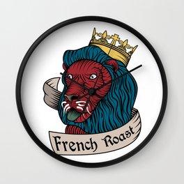 French Roast Wall Clock