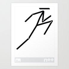 Logo-graphic Art Print