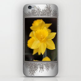 Trumpet Daffodil named Exception iPhone Skin