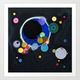 Several Circles Wassily Kandinsky, 1926 Art Print