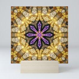 Purple Star Rustica Mini Art Print