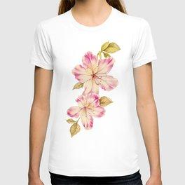 Azalea Watercolor Painting 2 T-shirt