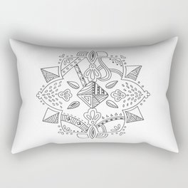 Mandala start Rectangular Pillow