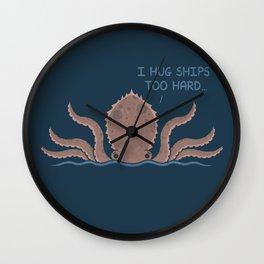 Monster Issues - Kraken Wall Clock