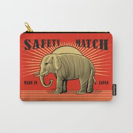 The Vintage Elephant Safety Match Carry-All Pouch