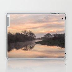 Misty Idle Sunrise Laptop & iPad Skin