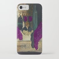 wine iPhone & iPod Cases featuring Wine by Cre8tive Canvas by Amanda