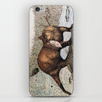 otter iPhone & iPod Skins featuring Otter by EVR.