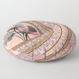 The Lotus Series - Resilience Floor Pillow
