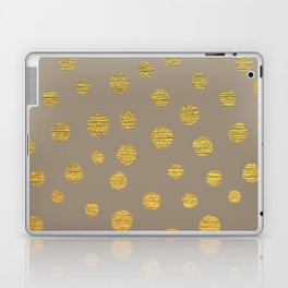 FANCY GOLDEN DOTS Laptop & iPad Skin