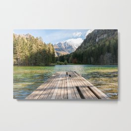 Plansarsko Jezero Metal Print
