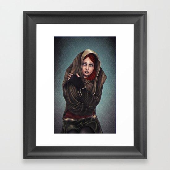 Abnegation Framed Art Print