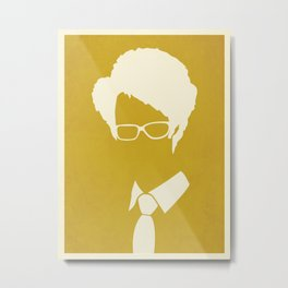 The IT Crowd - Moss Metal Print